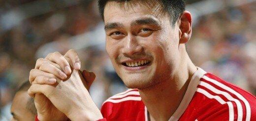 басскетболист Яо Мин