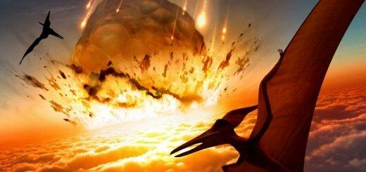Падение астероида уничтожило динозавров