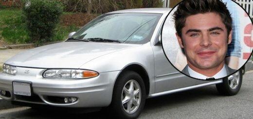Зак Эфрон - Oldsmobile Alero