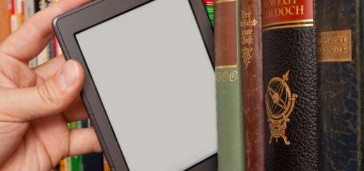 электронная книга не займёт много места