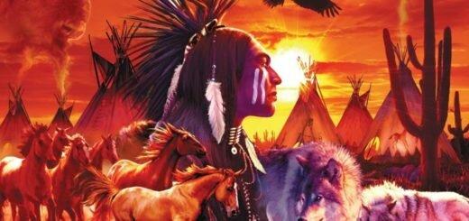 животные и индейцы